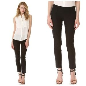 Theory Belisa Slim Side Zip Pant Black Size 6